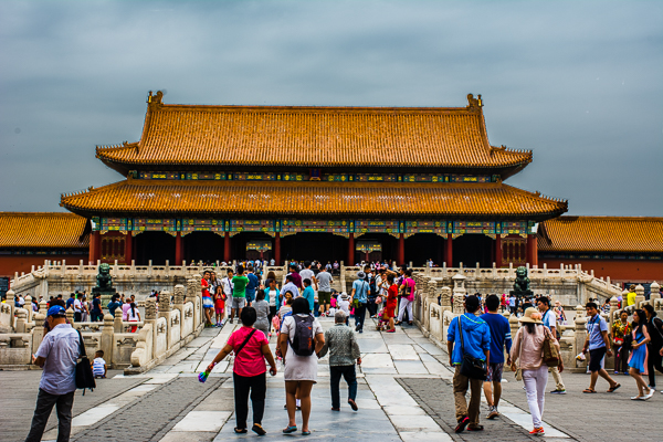 Taihe Gate in the Forbidden City, Beijing.
