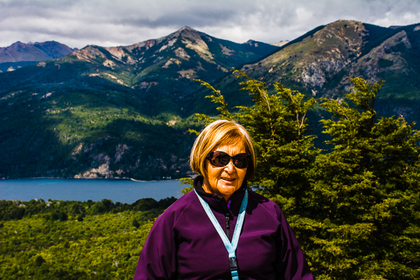 Raquel Galindo, our host and guide in Bariloche and Nahuel Huapi National Park in Argentina.