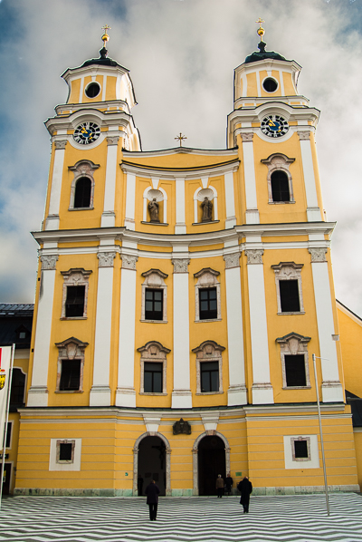 St. Michael's Church in Mondsee.