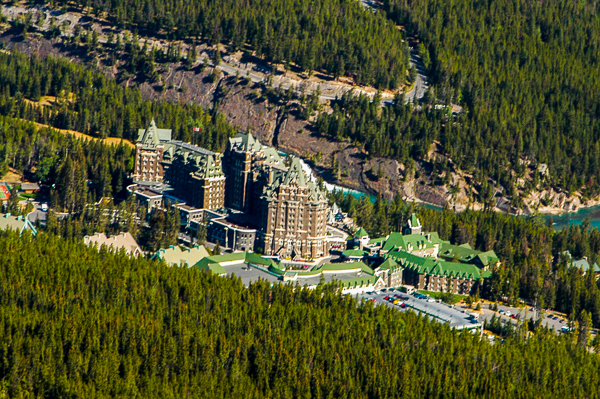 Fairmont Banff Springs Hotel.