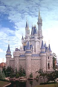 Cinderella Castle at Magic Kingdom.