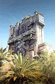 Tower of Terror at MGM Studios.