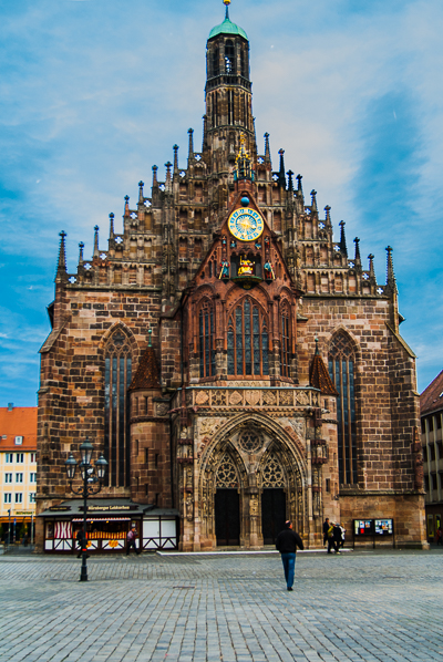 Church of Our Lady in Nuremberg.