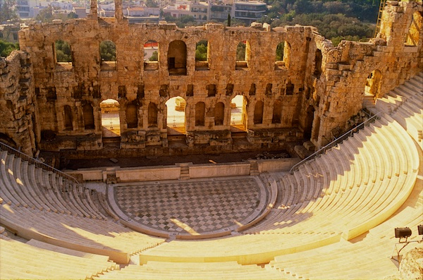 Theater of Dionyssos.