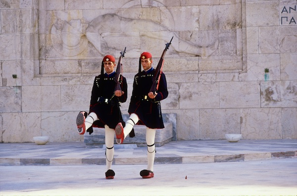 Guards at the Tomb of the Unknown Solider.