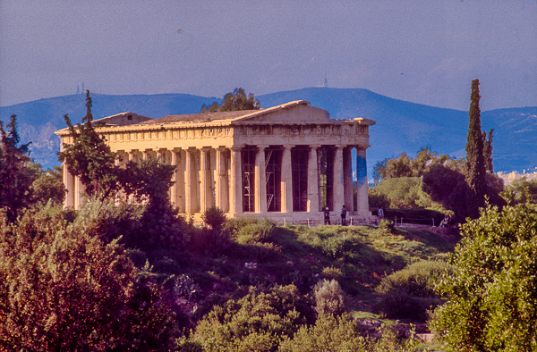 Thission Temple in Ancient Agora.