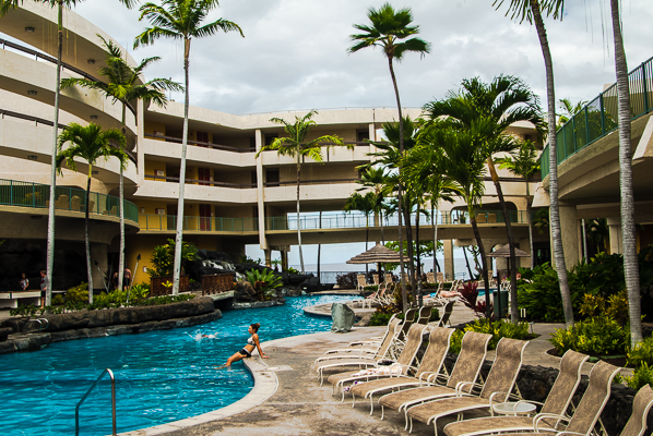Hawaii (Big Island) Sheraton hotel.