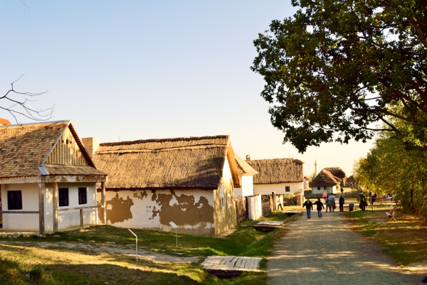 Village in Open-Air Museum near St. Andrew.
