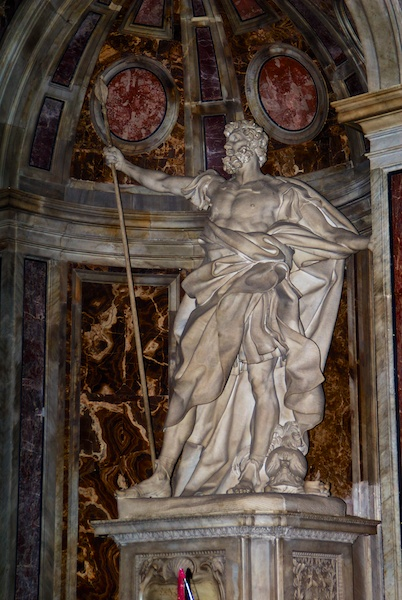 Statue in St. Peter's Basilica.