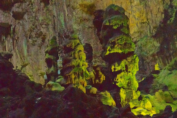 Formations in the Caves of Castellana.