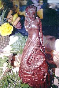 Chocolate mermaid.