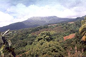 Mount Pelee, Martinique.