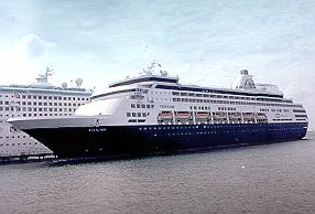 Holland America Ship Veendam.